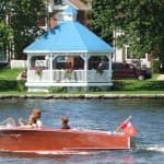Boating at Lock 18, Rice Lake, Hastings, Trent Hills ON