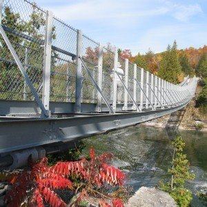 Ranney Gorge Suspension Bridge, Campbellford, Trent Hills ON