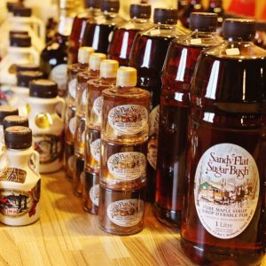 Maple Syrup, Sandy Flat Sugar Bush, Warkworth, Trent Hills, Ontario