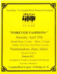 Forever Fashions @ Campbellford Legion | Campbellford | Ontario | Canada