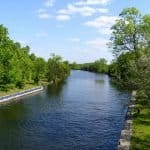 Trent Canal below Lock 8, Campbellford, Trent Hills, Ontario, Canada