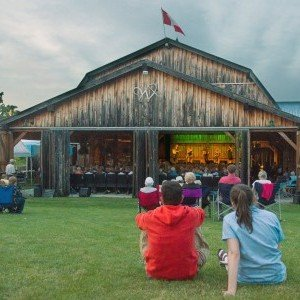 Westben Arts Festival Theatre, The Barn, Campbellford, Trent Hills, ON