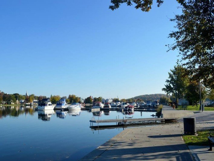 Hastings Village Marina, Rice Lake, Trent Hills, Ontario, boating