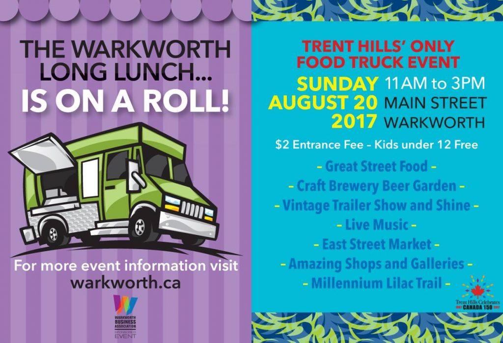Warkworth Long Lunch