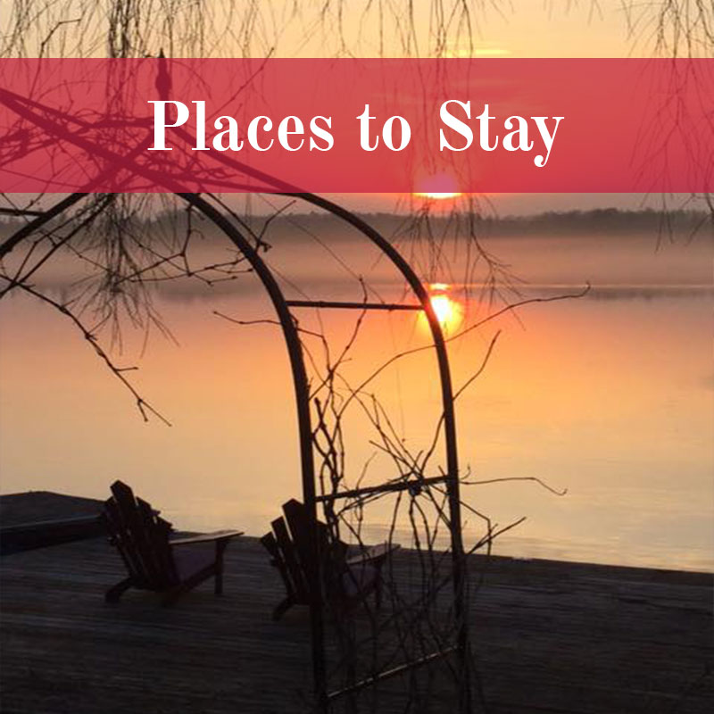 Places To Stay, Trent Hills Ontario