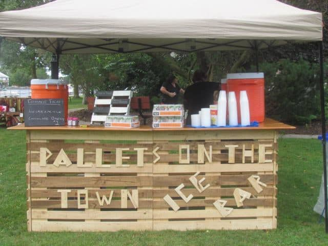 Pallets on the town