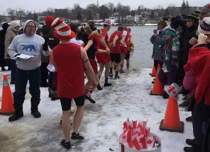 Polar Bear Plunge, Campbellford, Trent Hills, Ontario