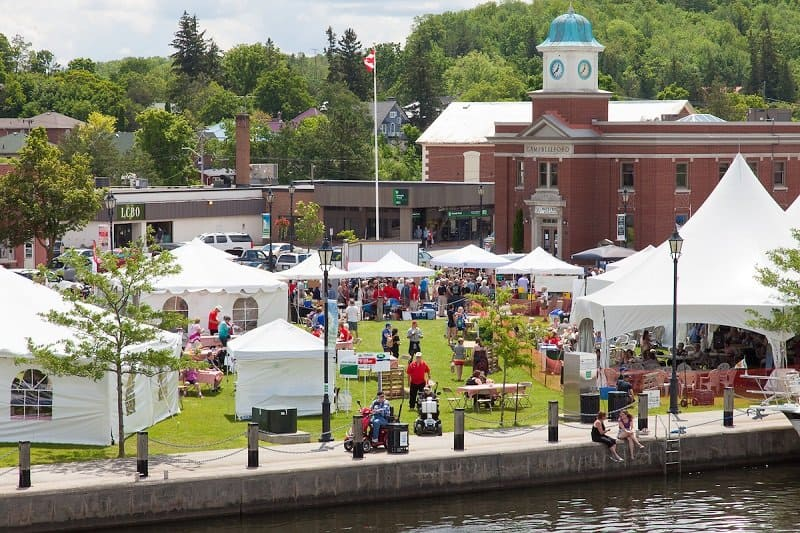 Campbellford Incredible Edibles Festival, Campbellford, Trent Hills, Northumberland County, Ontario