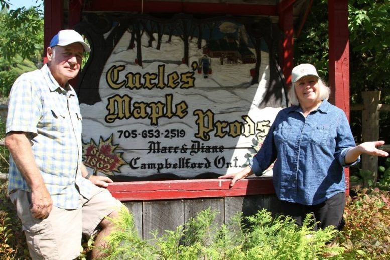 Curle's Maple Products, Campbellford, Trent Hills, Northumberland, Ontario