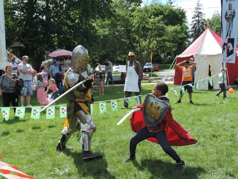 Hastings Medieval Festival, Hastings, Trent Hills, Northumberland County, Ontario, Canada
