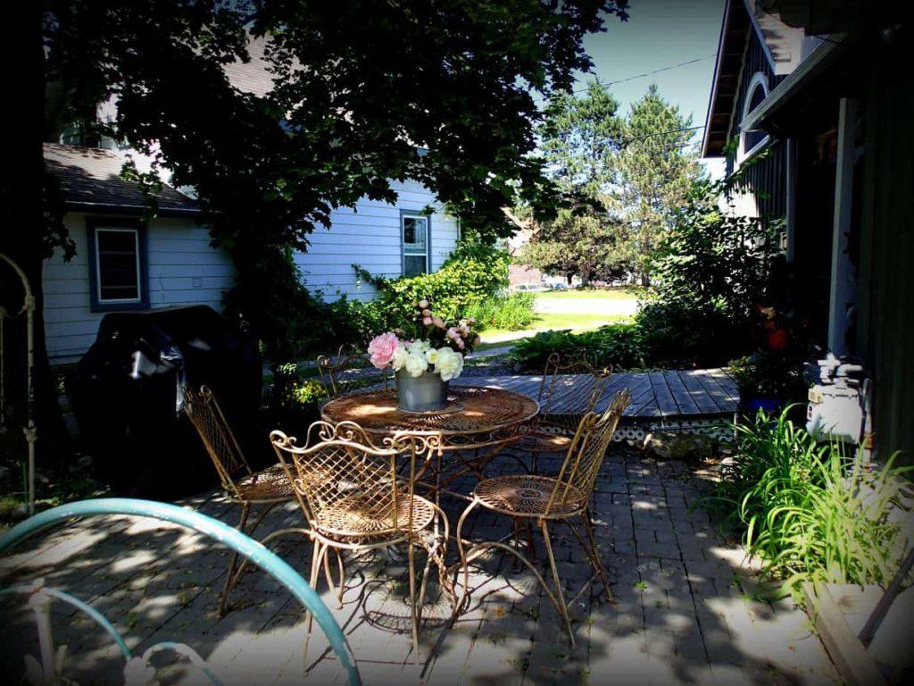 Windswept Garden, Emilyville Inn, Campbellford, Trent Hills, Northumberland County, Ontario