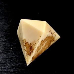 Saffron Chocolate Bonbon, Centre and Main Chocolate, Warkworth, Trent Hills, Northumberland County, Ontario