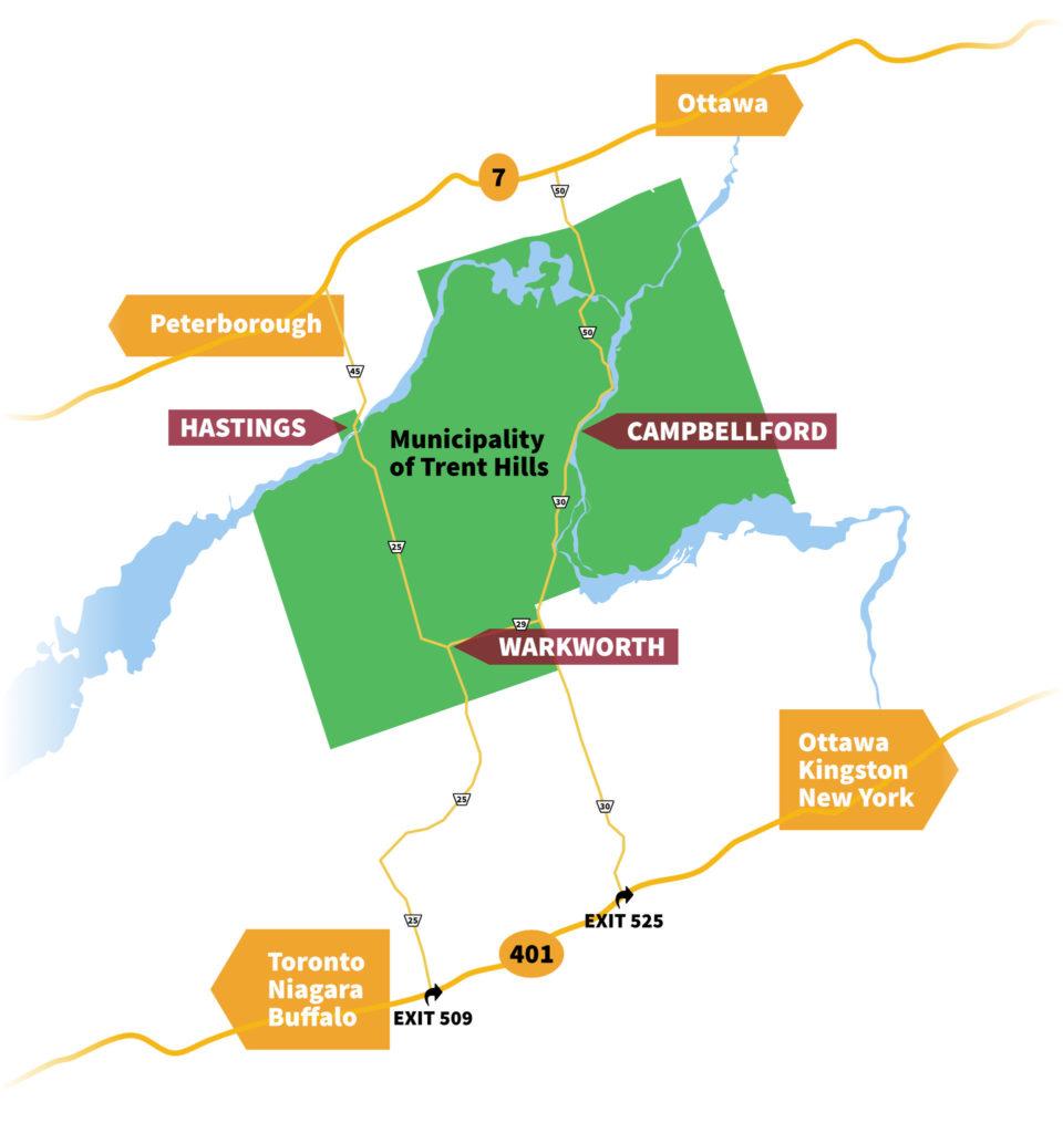 Trent Hills Map