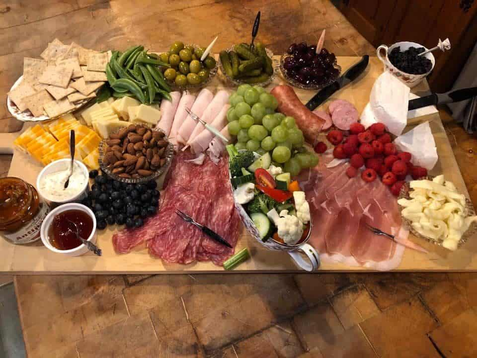 Windswept.ca charcuterie board Campbellford Trent Hills Ontario