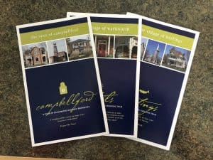 Heritage brochures from Campbellford, Warkworth and Hastings