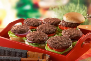 Healey Falls Bision Burgers
