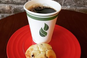 The Natural Coffee and Scone